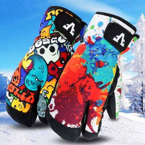Snow Mittens - The Luffy Store