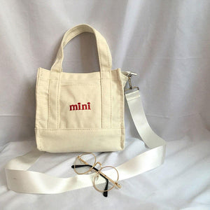 Mini Canvas Totes Bag