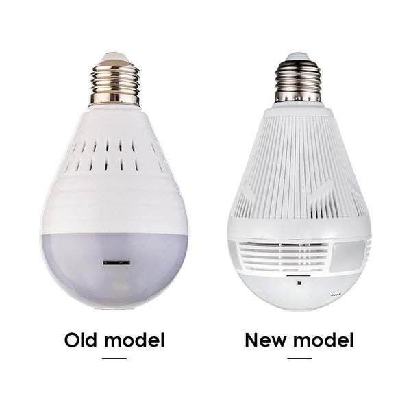 960 P Wireless Panoramic CCTV Light bulb - The Luffy Store