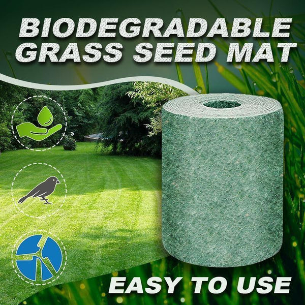 1 Biodegradable Grass Seed Mat - The Luffy Store