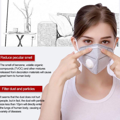 N95 Mask With Breathing Valve - The Luffy Store