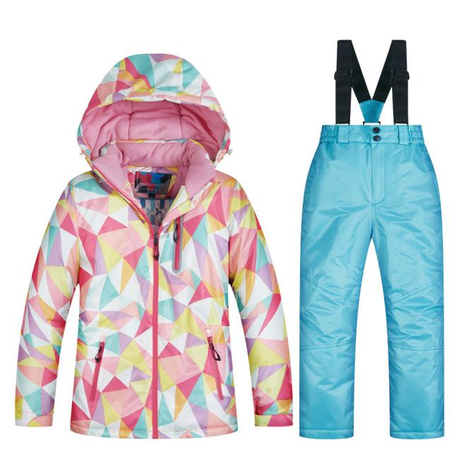 Children Mix and Match Ski Jacket and Pants - The Luffy Store