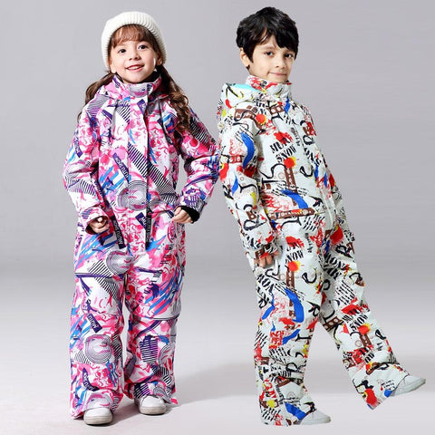 Children Ski Jumpsuit - The Luffy Store
