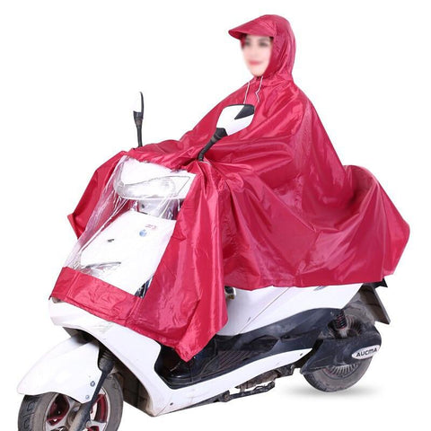 EVA  Unisex Raincoat Bicycle or Scooter - The Luffy Store