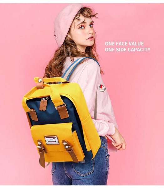 Girls Backpack with USB Port - The Luffy Store