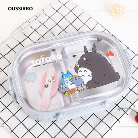 304 Stainless Steel Totoro Kids Thermal Lunch Box - The Luffy Store