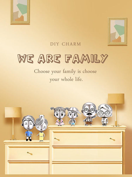 Happy Family Charm Collection - The Luffy Store