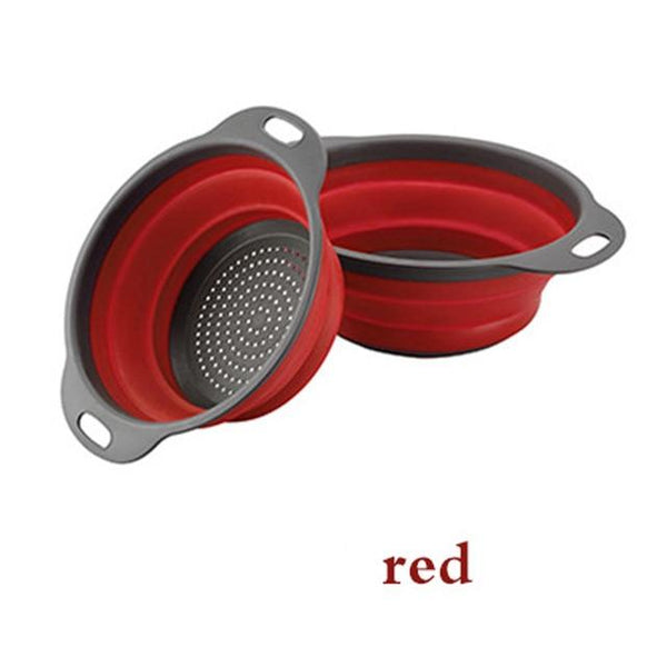 Silicone Folding Drain Basket - The Luffy Store