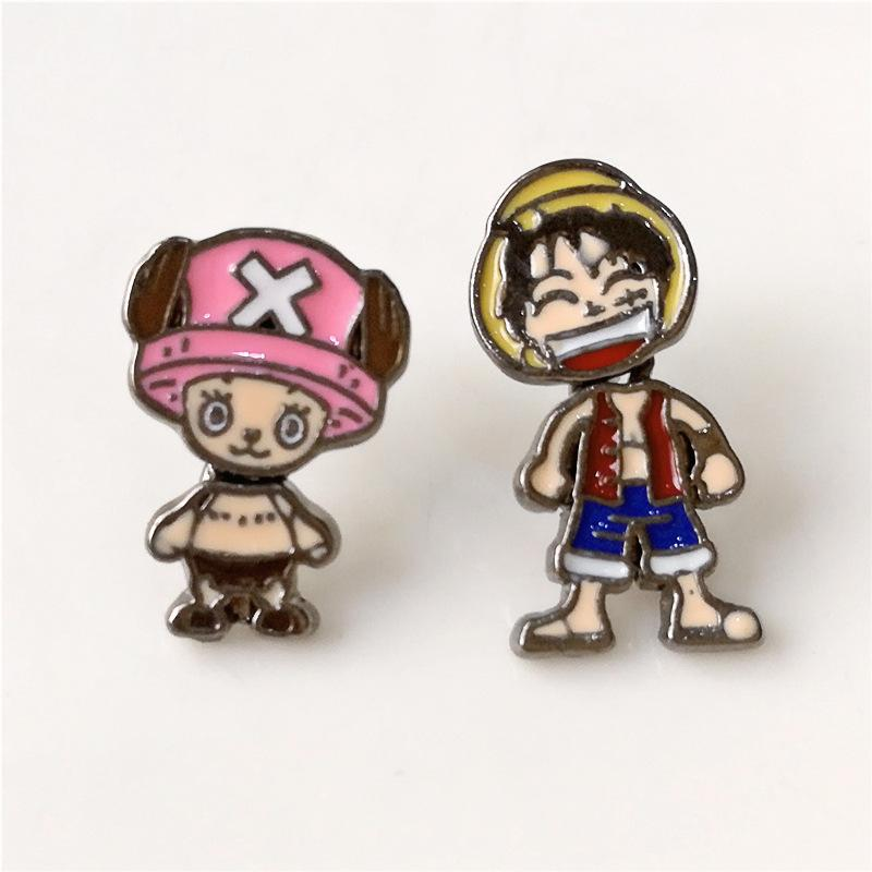 ONE PIECE Luffy Style Fashion Anime Stud Earring - The Luffy Store