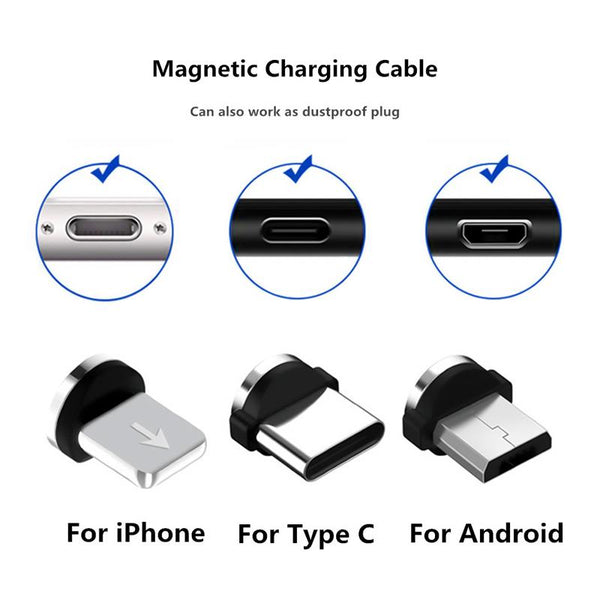 Magnetic Micro USB Charging Plug - The Luffy Store