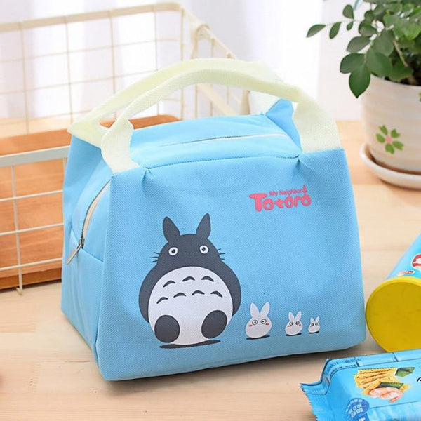 Japanese Cartoon Thermal Lunch Bag - The Luffy Store