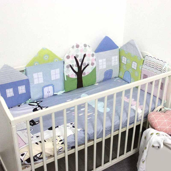 5 Piece Baby Crip Bumper Set - The Luffy Store