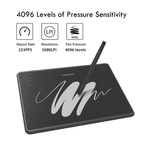 HUION H430P Graphic Tablet - The Luffy Store