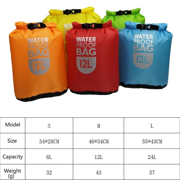 24 Litres Waterproof Dry Bag - The Luffy Store