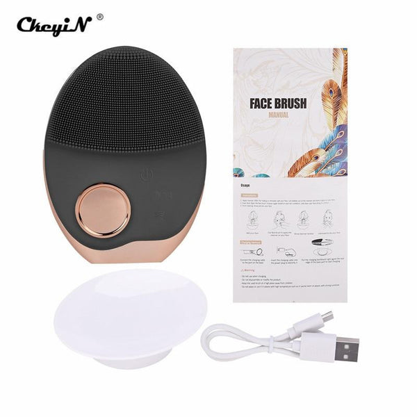 Wireless Charging Ultrasonic Face Cleaner - The Luffy Store