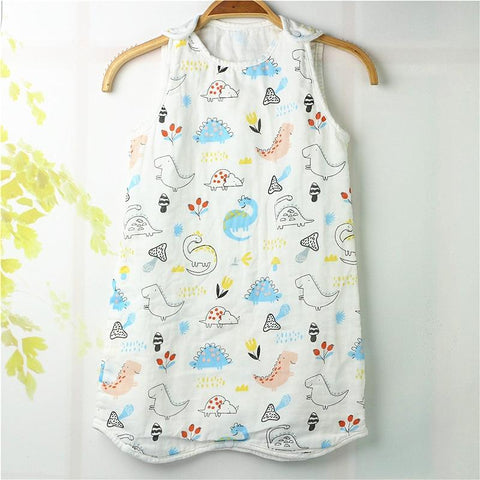6-24 Months Sleeveless Baby Sleeping Bag - The Luffy Store