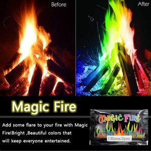 30 g Mystical Bonfire Flame Powder - The Luffy Store