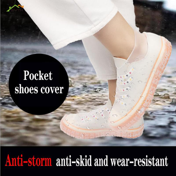 Unisex Silicone Waterproof Shoe Protector - The Luffy Store