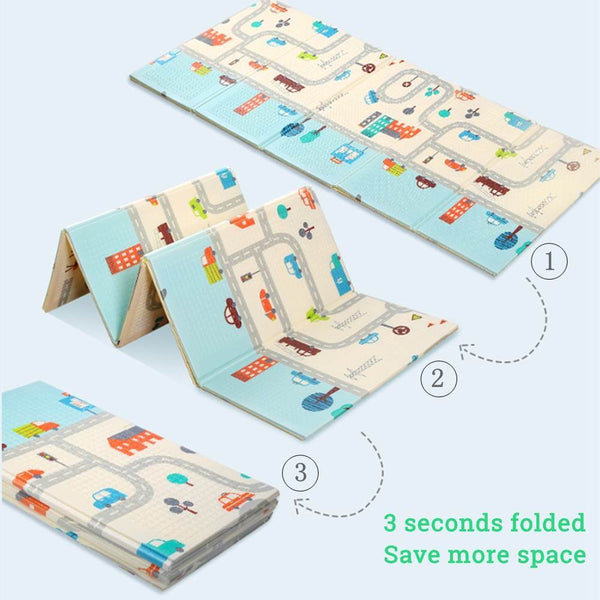 Assorted Foldable Crawling Mat - The Luffy Store