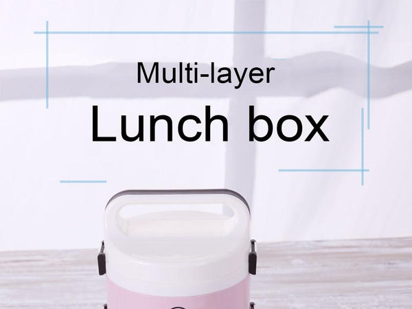 BPA Free Double / Three Layer Microwavable Lunch Box - The Luffy Store
