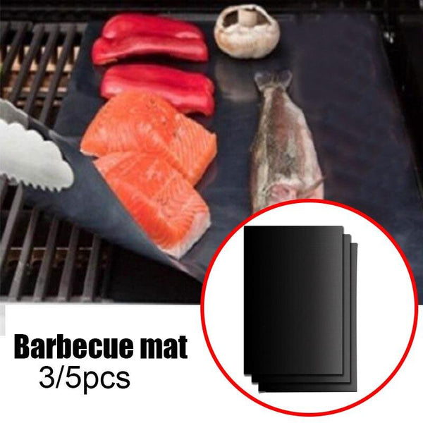 3PCs BBQ Non Stick Grill Mat - The Luffy Store