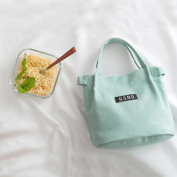 Canvas Lunch Bag With Shoulder Strap - The Luffy Store