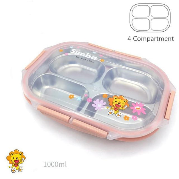 Kids 304 Stainless Steel Japanese Thermal Lunch Box - The Luffy Store