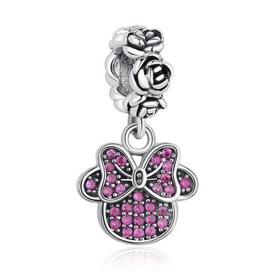 Assorted Cartoon 925 Sterling Silver Charm - The Luffy Store