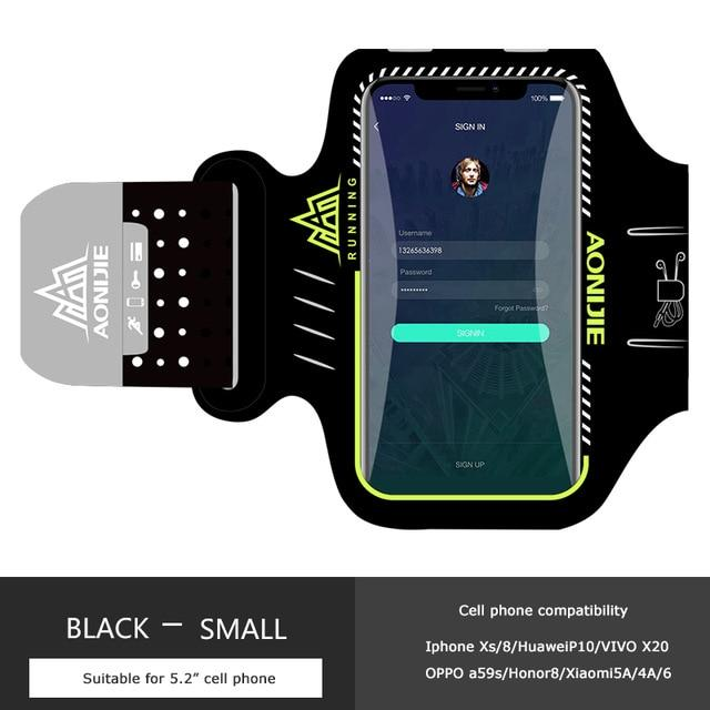 AONIJIE Water Resistant Mobile Phone Armband - The Luffy Store