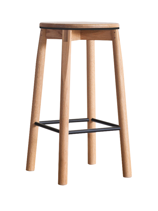 Crop Stool > 660mm > Metal Rails