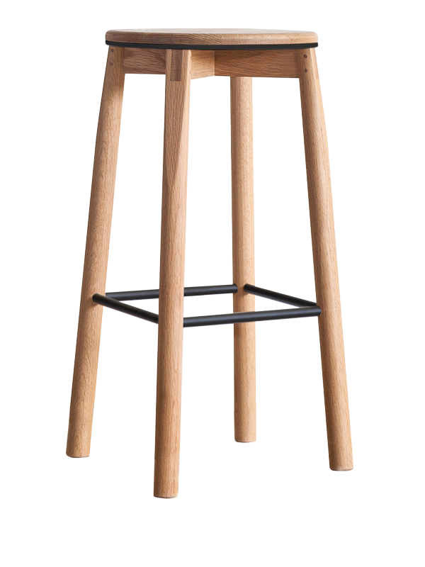 Crop Stool > 750mm > Metal Rails
