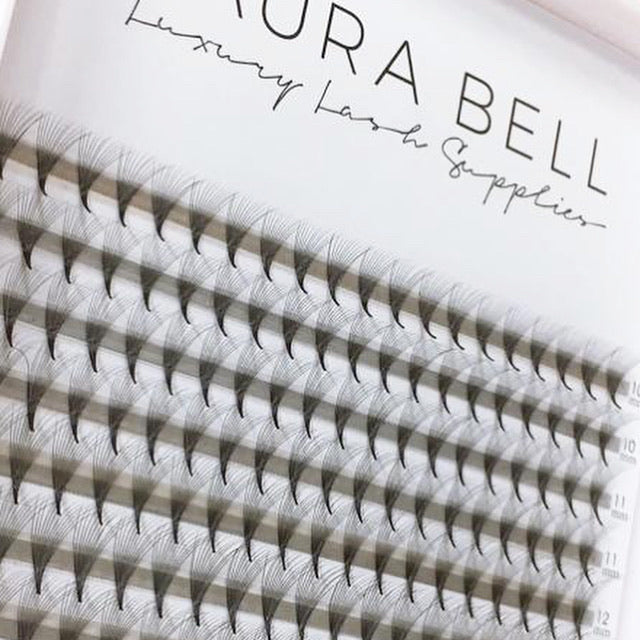 12D Pre Made Volume Large Trays - Laura Bell Luxury Lash Supplies
