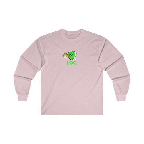 V DAY DROP LONG SLEEVE TEE - PINK