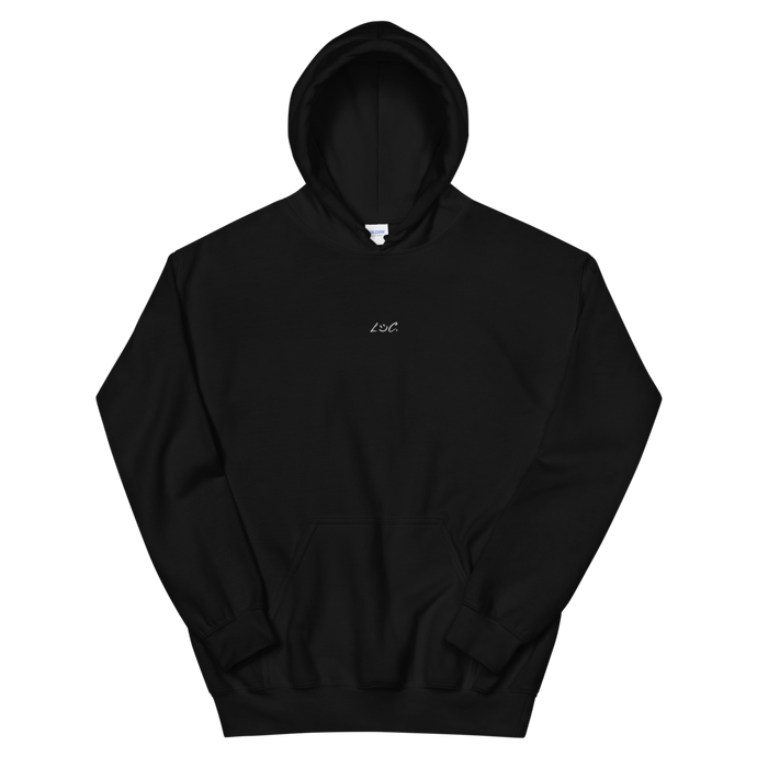 LOC Black Hoodie Embroidered
