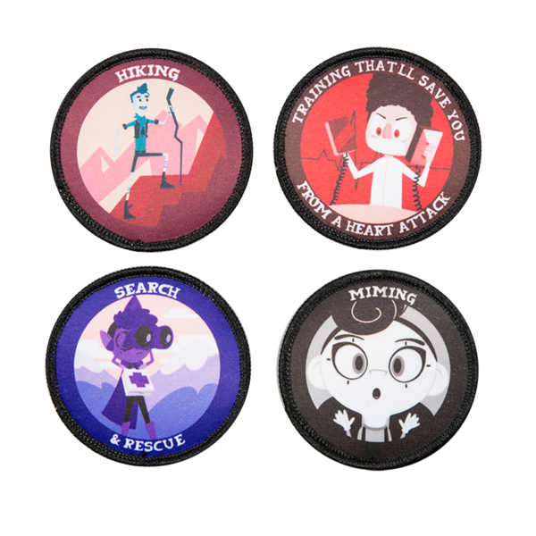 Camp Camp Patch Pack One