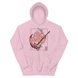 RWBY Crescent Rose Floral Hoodie