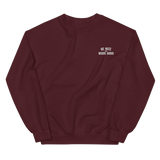 Rooster Teeth Be Nice and Work Hard Embroidered Pullover