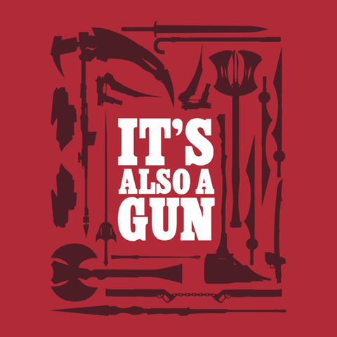 RWBY Also A Gun Shirt