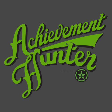 Achievement Hunter Script Zipper Hoodie