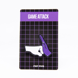 Game Attack Fist Five Enamel Pin