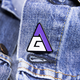 Game Attack Logo Enamel Pin