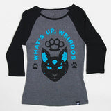 Meow's It Going Women's Raglan Tee