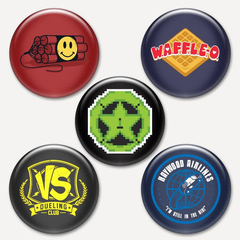 Achievement Hunter Button Pack #2