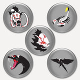 RWBY Button Pack #3