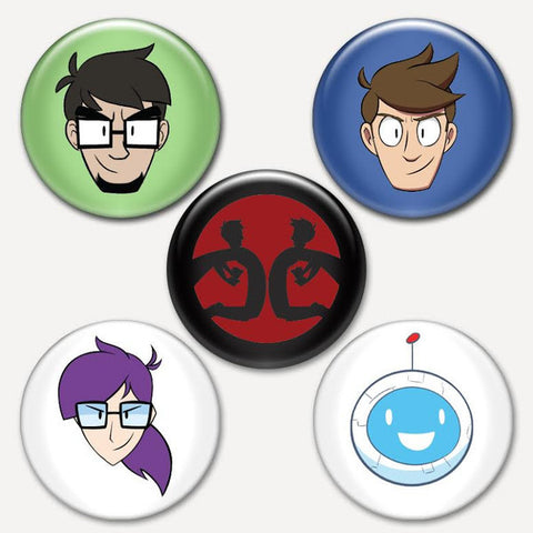 X-Ray & Vav Button Pack