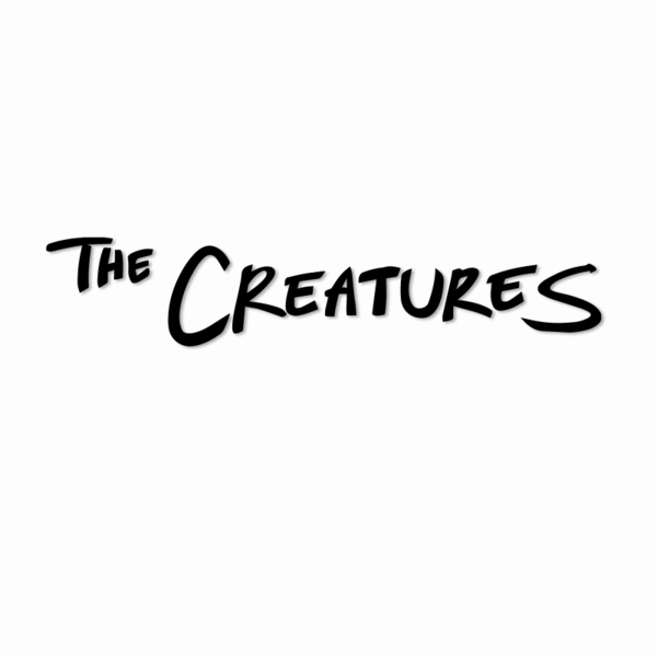 Creatures Logo Vinyl Decal (Black)