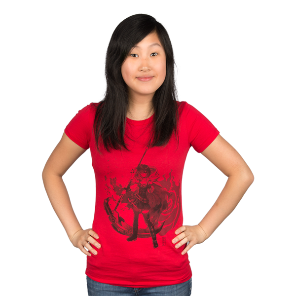 RWBY Vintage Ruby Rose Women's Tee