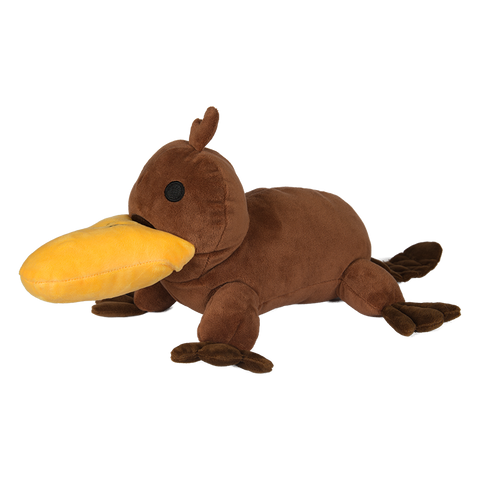 Camp Camp Talking Platypus Plush