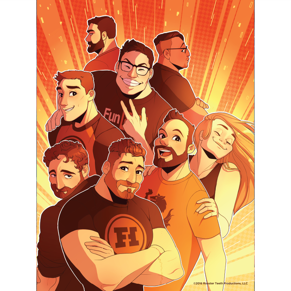 "Funhaus Illustrated Poster (18"" x 24"")"