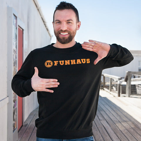 Funhaus Wordmark Sweatshirt